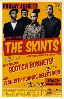So many AMAZING summer shows! Opening for The Skints! And The English Beat!