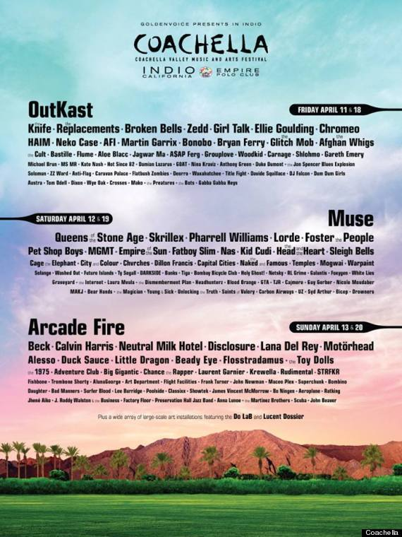Dismemberment Plan to play Coachella on April 12th +19th