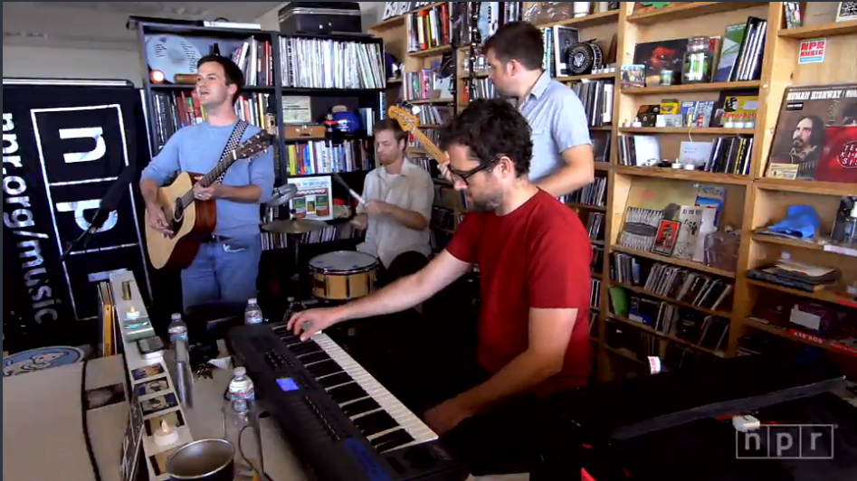 Watch The Dplan's Tiny Desk Concert at Npr.org