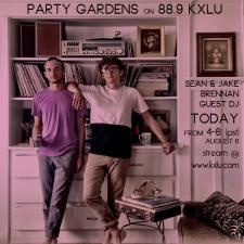 Party Gardens' Sean & Jake Brennan on 88.9 KXLU