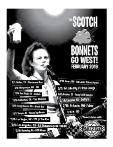 Go West, good Bonnets! This February!