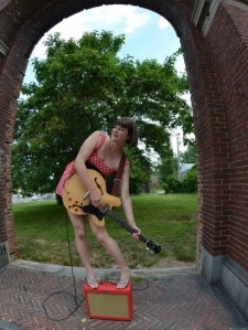 Lady Hatchet puts the ra-ra into the Baltimore MaRAthon, this Saturday EARLY! 7am