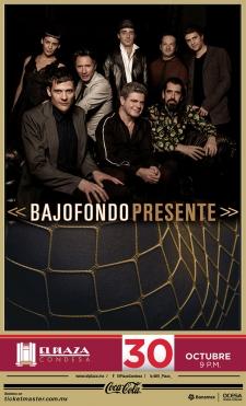 Bajofondo Show: Mexico City, Mexico