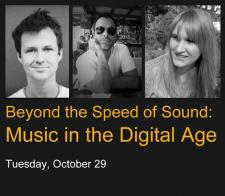 Travis Morrison appearing on CUNY internet/arts panel on Tuesday, October 29