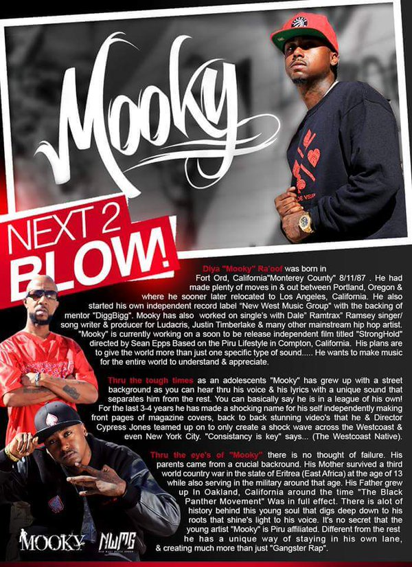 Mooky in the latest issue of XXL