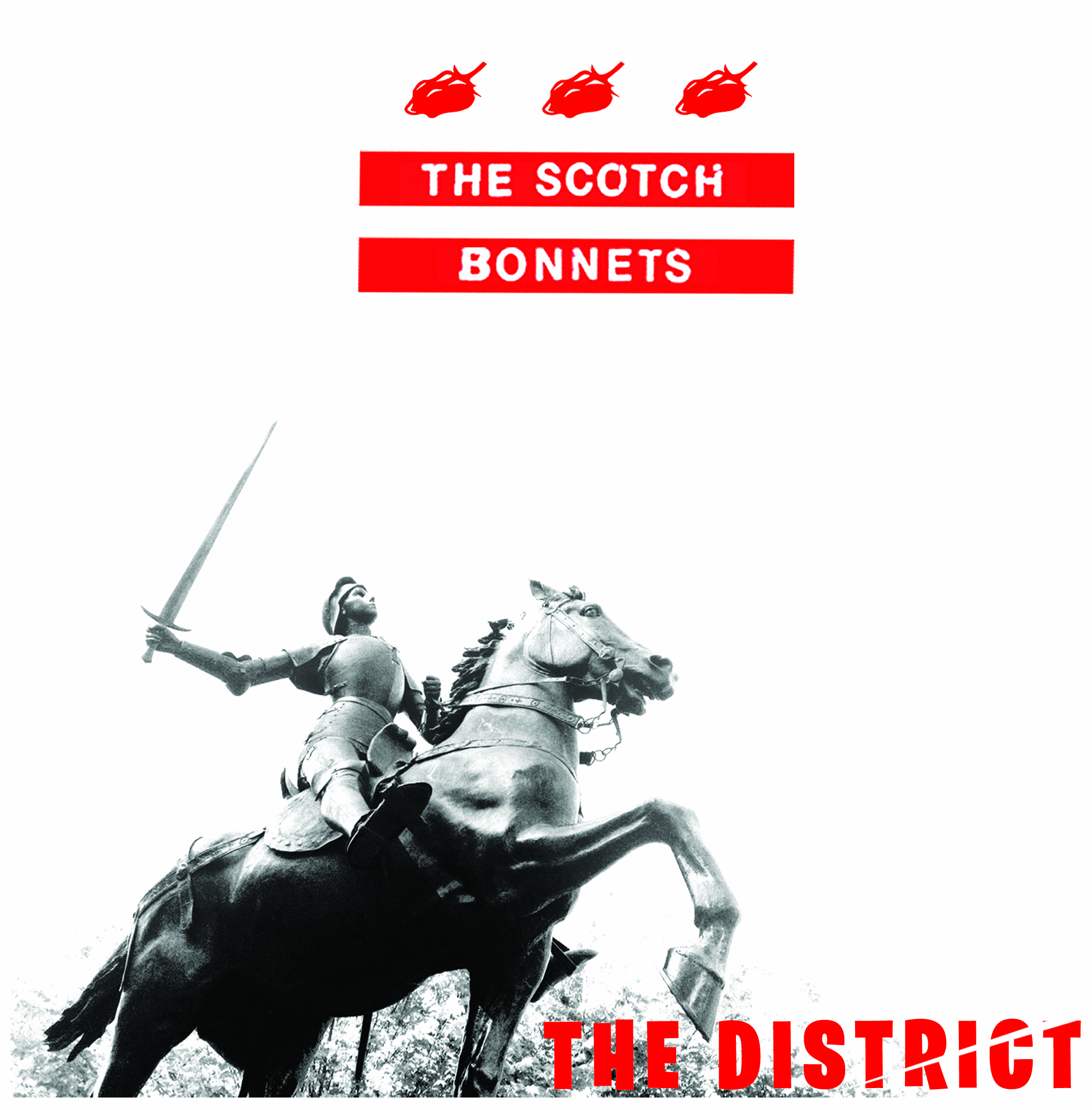 "BIG NEWS! BONNETS TO RELEASE THE DISTRICT 7"" ON JUMP UP RECORDS, 5/27"